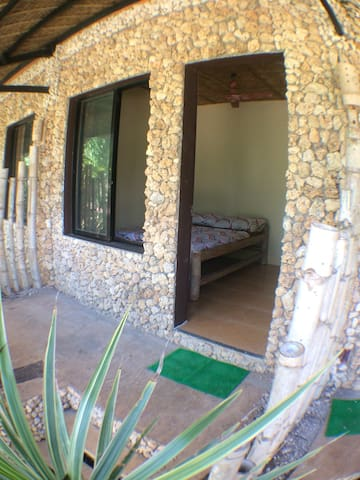 Beach room  With private Veranda, fan, t&b