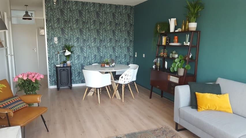 Rustig gelegen modern appartement in Gouda - Gouda - Leilighet