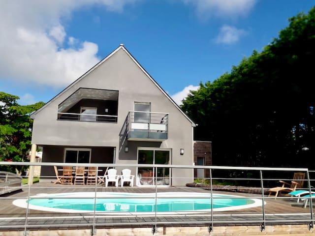L'Anse Emeraude : maison à 600m de la plage