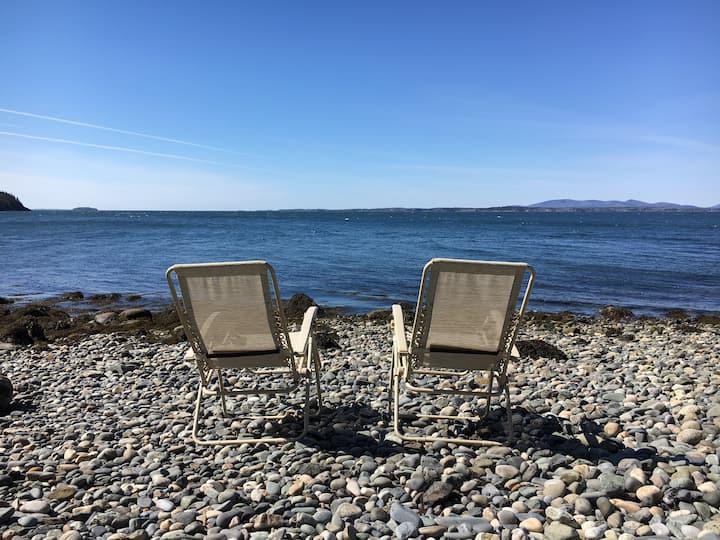 Stunning Maine Home, Private Beach
