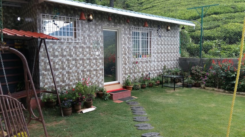 Euphoria, room with private garden