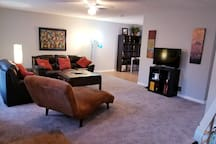 "Large living room - 42"" Smart TV"