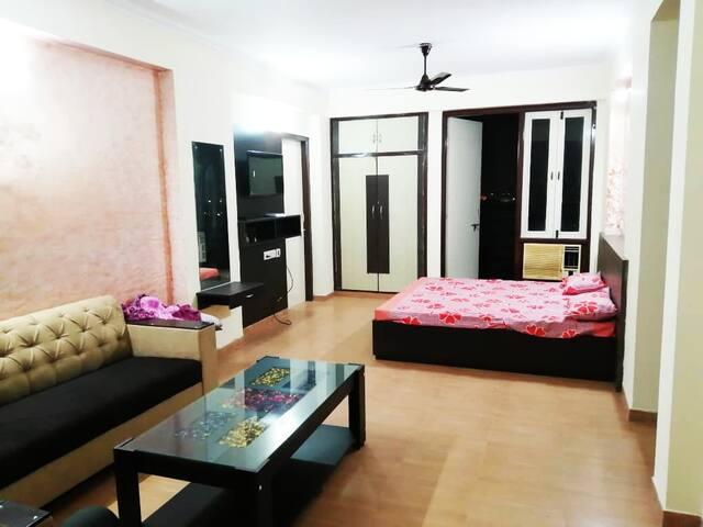 Ak's-03 Entire apartment{kitchen+balcony+sofaset}