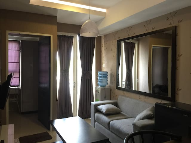Disewakan unit Apartemen tipe2BR fasilitas lengkap