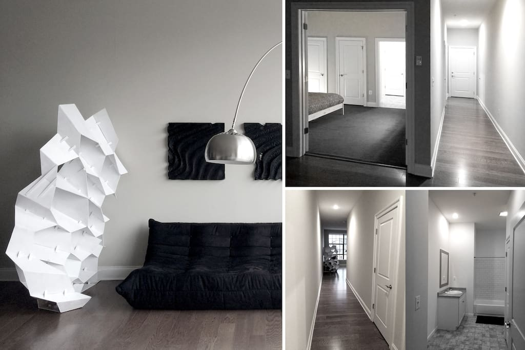 Living Room | Bedroom | Bathroom