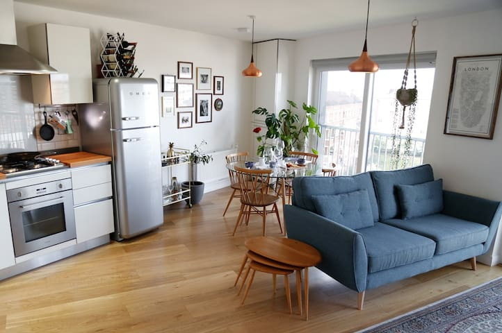 Scandi Flat in the Heart of Hackney - Londen - Appartement