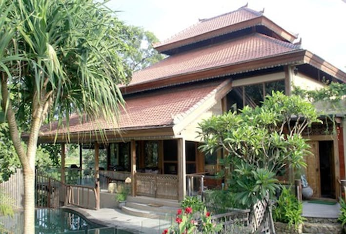 Wow factor, award winning eco-villa - East Denpasar - House