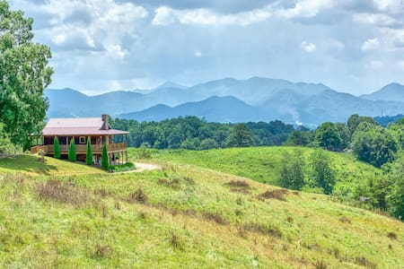 Bohicket Ridge: Close to Asheville w/ great views!