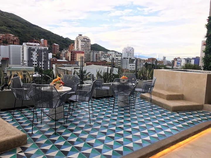 ❤ Centro Histórico Cali ✈❤ Hotel 1 bed ☀ Ozono+UV