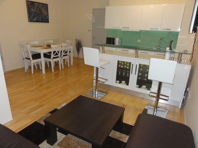 Apartment Svit just few meters from ski slopes