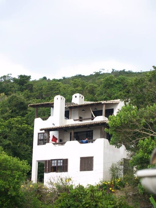 Vista de casas 1 y 2 desde la calle