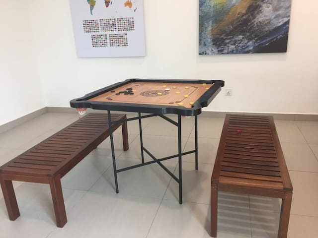 Comfy seaview Georgetown suites with parking - Penang - Podkroví