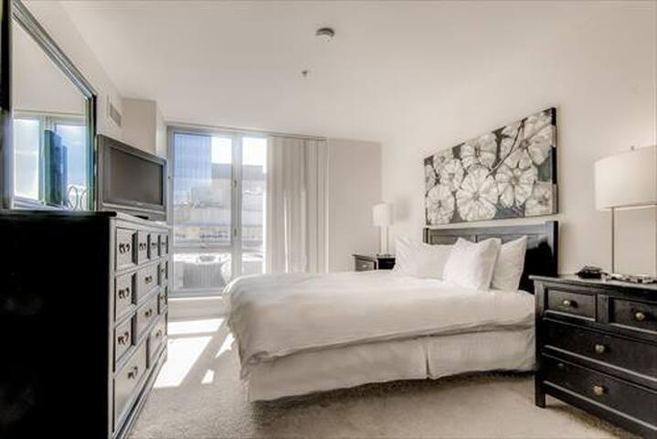 Lux 2 Bedroom Apt Near Waterfront w/wifi