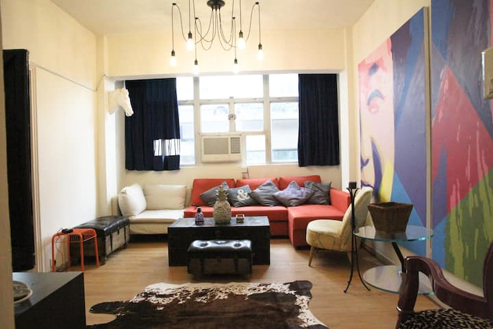 Art director home 3br WC/ CWB, 1mins Time square with terrance