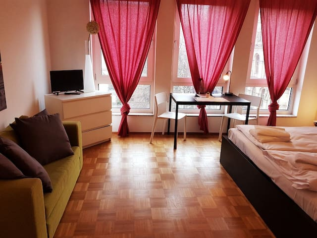 Studio apartment for 3 persons in Berlin Mitte