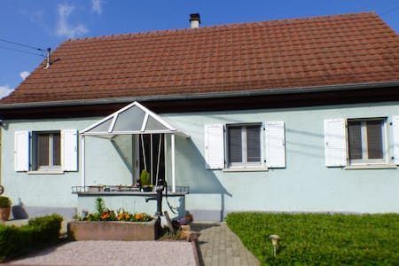 Maison au centre de l'Alsace proche d'Europa-Park