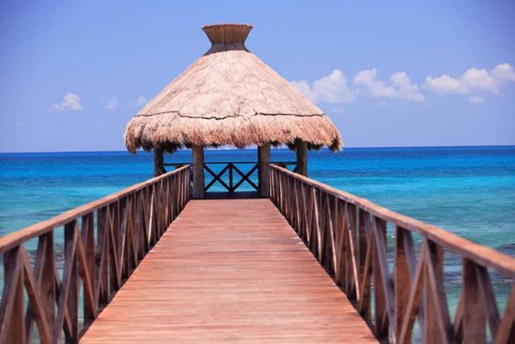 Private Resort Beach Pier