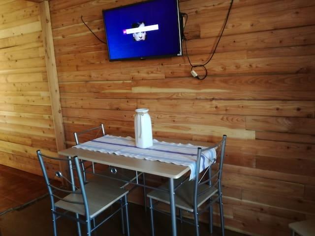 Cabaña cómoda y acogedora en Villarrica.