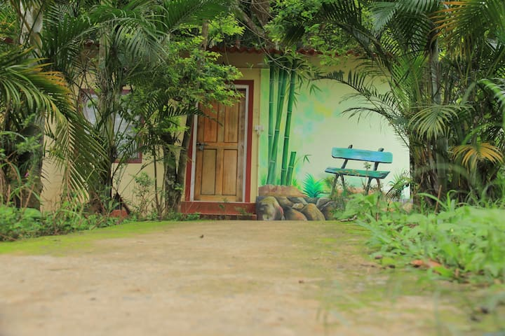 4 bed family cottage in Jungle (with breakfast)