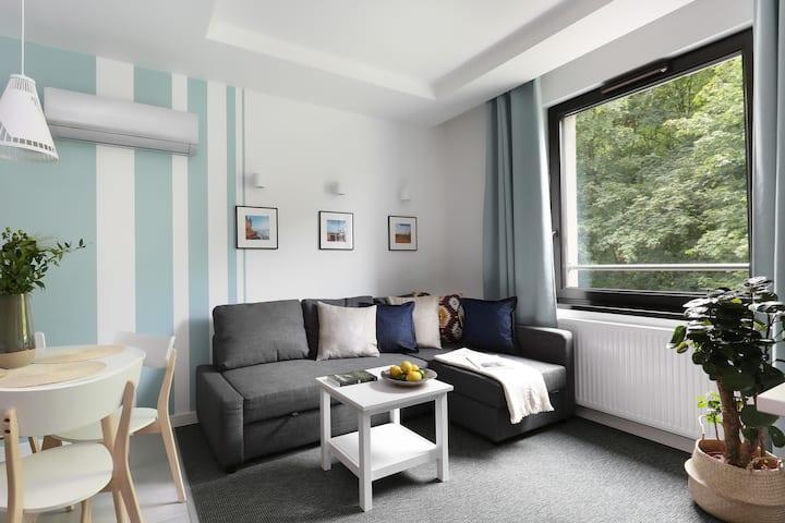 Klimatyczny apartament w Gdańsku