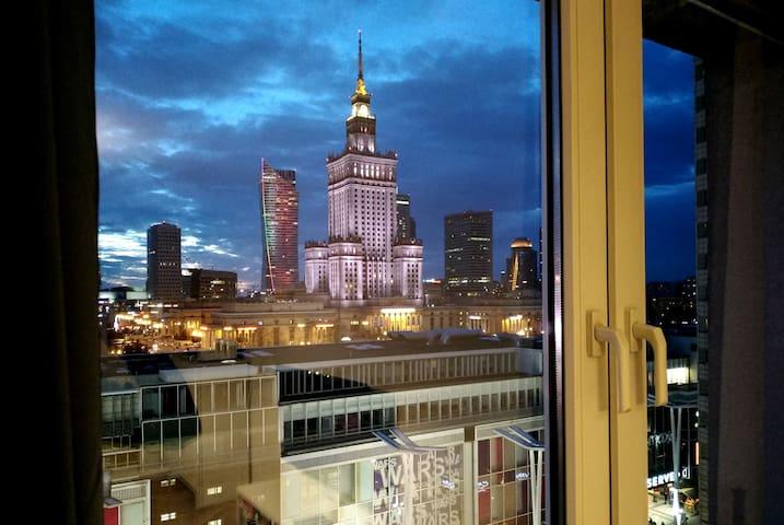 Apartament Widok Centrum Warszawa