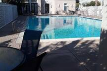 Pool and Spa area
