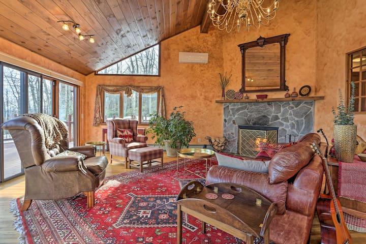 NEW! Family Home w/Deck Near Minnewaska State Park