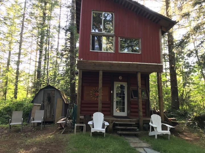 Talking Trees Forest Retreat- Maple Cabin