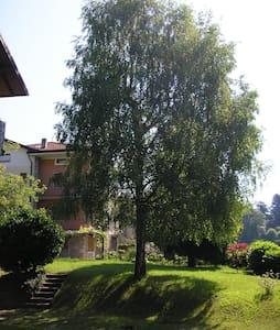 grande appartamento con giardino privato - Clusone - Lejlighed