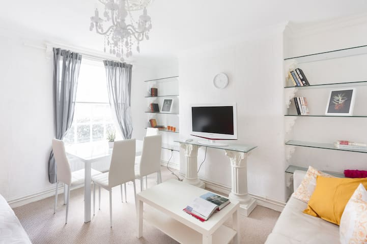 BRIGHT FLAT IN HOLLOWAY ROAD