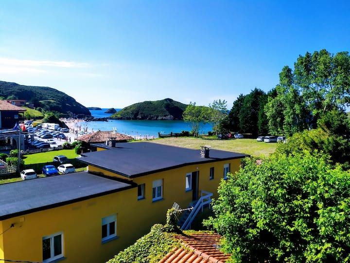 Apartamento con vistas al mar en Barro