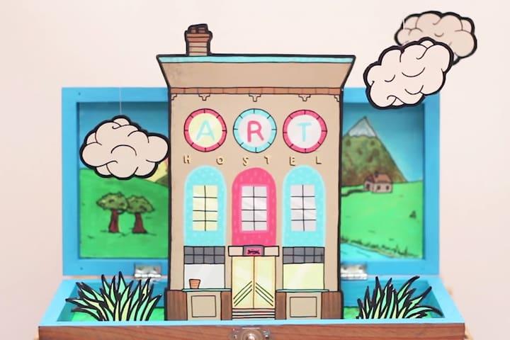 Art Hostel - Leeds - Vandrarhem