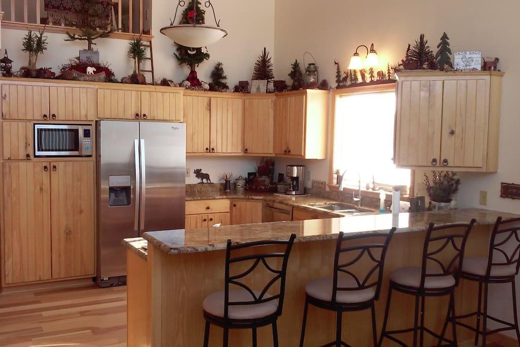 Newly Remodeled Kitchen 2016