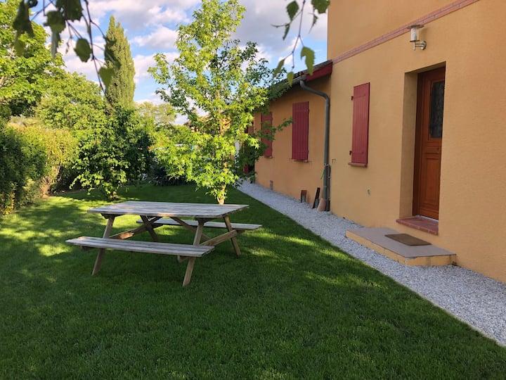 Chambre calme Canal du Midi - Lauragais