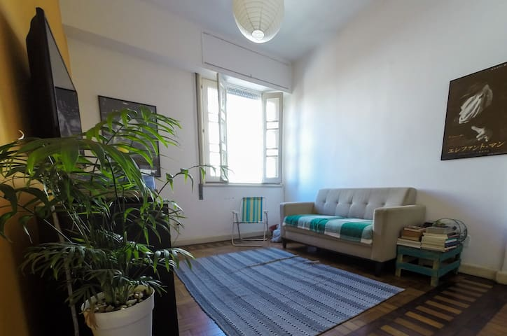 Cozy bedroom in Laranjeiras - Rio de Janeiro
