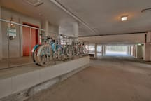 Underground open parking.  First come, first served.  Owners and guest only.