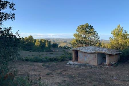Dome house mountain getaway.