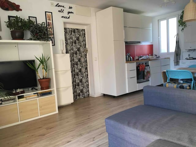 Private room with excellent city center connection