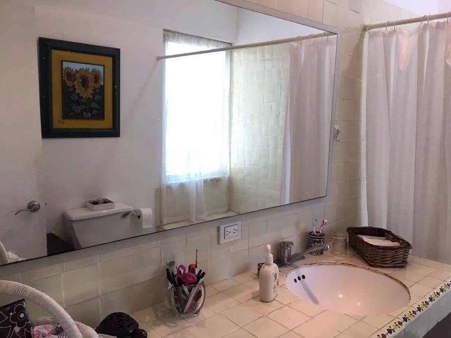 Baño privado en suite