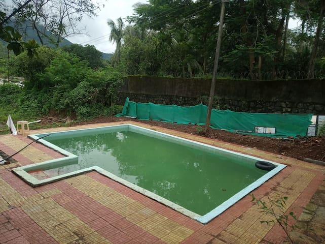 RIVER HUGGING FARMHOUSE @ KARJAT with POOL
