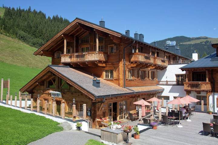 Luxuriöse Ferienwohnung in Mittersill nahe dem Skigebiet