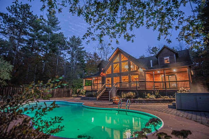 Whitetail Loj~Pool/HotTub/Sauna/GameRoom/NewTvs