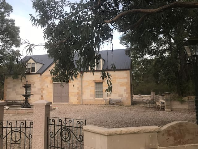 sandstone cottage on ten acres