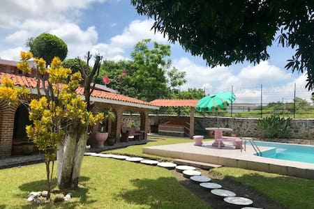 "Casa familiar de descanso ""el Rodeo"" PetFriendly"