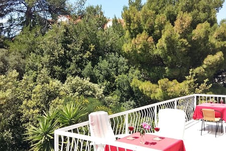 Ensuite Room 2 @ Cavtat 200m from center - Cavtat - Apartamento