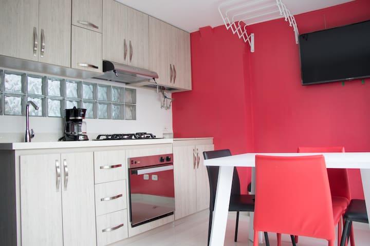 Apartamento de 1 habitación en Pinares