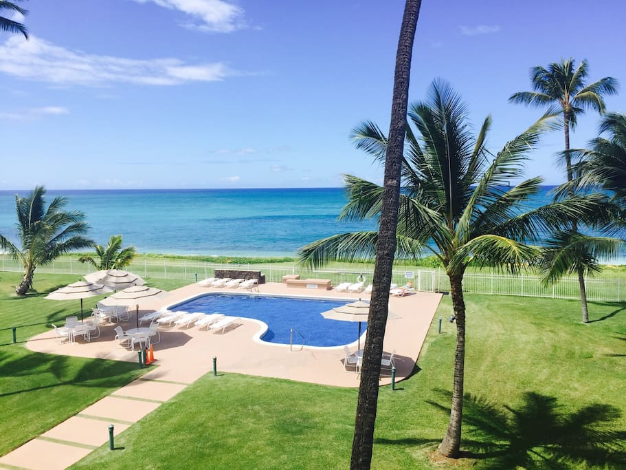View from your balcony / lanai