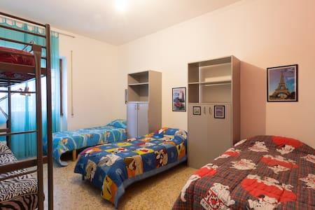 Nice dormitory in Rome