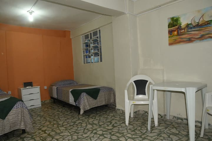 Private room with bethroom in grandmather`s house - Recife - Leilighet