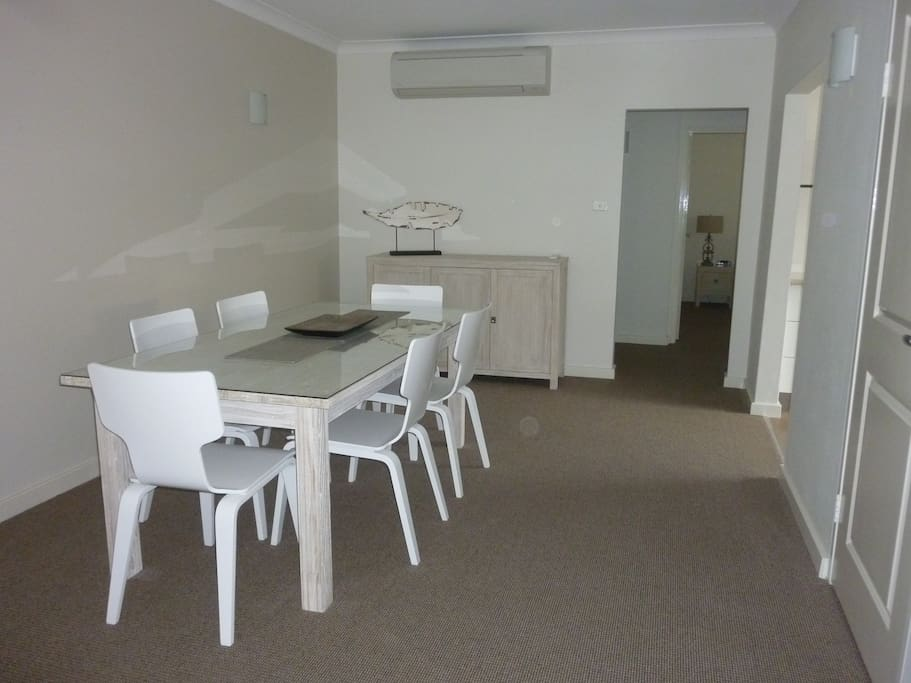 Large roomy dining area